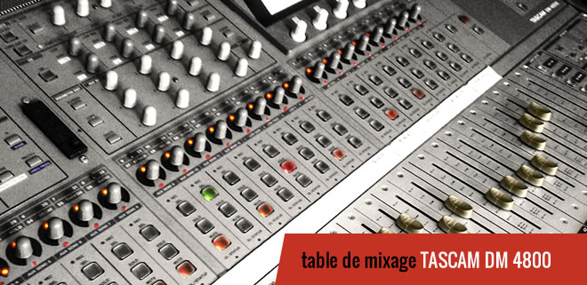 table de mixage-tascam-dm-4800-660
